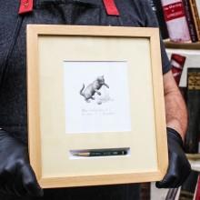 Рамкирана Графика Ясен Гюзелев Алиса в Огледалния Свят Гл. I, L4, N. 7/100