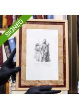 Рамкирана Графика Ясен Гюзелев Алиса в Огледалния Свят Гл. II L4 N. 7/100