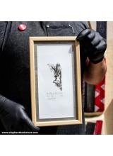 Рамкирана Графика Ясен Гюзелев Кралят на Златната Река Гл. V L4 N. 5/100