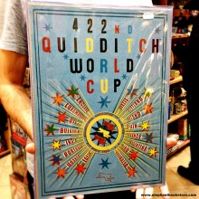 Large Metal Sign QUIDDITCH