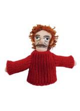 Магнитна мъпет-кукла за пръст – Кърт Вонегът
