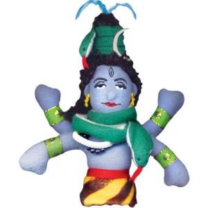 Магнитна мъпет-кукла за пръст – Шива