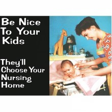 Метален Магнит Be Nice to Your Kids