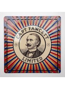 Метална Табела Captain Fawcett