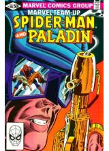 Комикс 1981-08 Marvel Team-Up Spider-Man 108