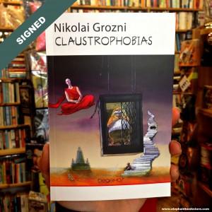 Signed Book CLAUSTROPHOBIAS Nikolai Grozny