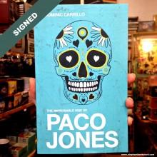 Книга с автограф PACO JONES Dominic Carillo