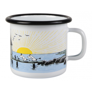 Enamel Mug Moomin Mellow Wind Small