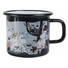 Moomin Coffee Mug Picnic Black