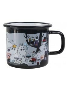 Moomin Coffee Mug Picnic Black