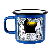 Moomin Metal Mug Small Light Blue