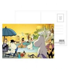 Пощенска картичка |  Moomin Riviera 003