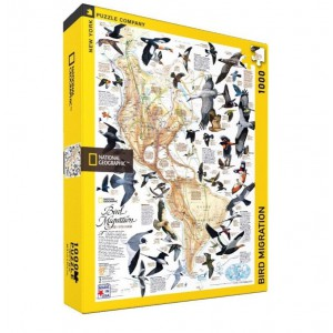 Puzzle National Geographic Bird Migration 1000 Pieces