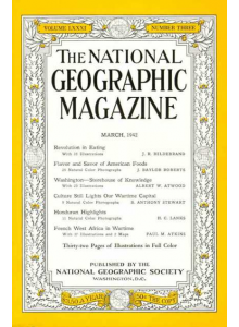 Списание National Geographic 1944-03