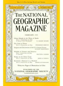 Списание National Geographic 1945-02