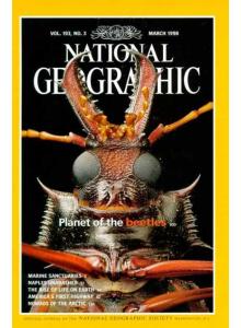 Списание National Geographic 1998-03