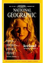 Списание National Geographic 1987-02