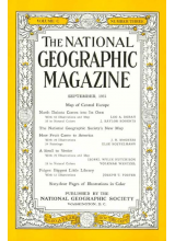 National Geographic Magazine 1951-09