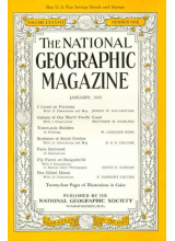 Списание National Geographic 1945-01