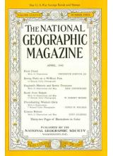 Списание National Geographic 1945-04