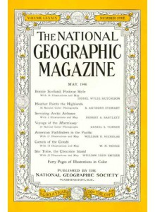 Списание National Geographic 1946-05