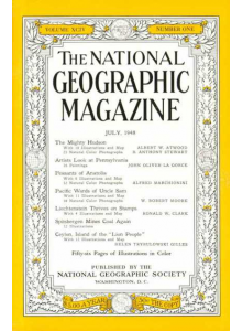 Списание National Geographic 1948-07