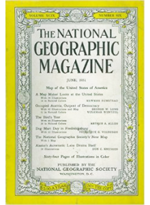 Списание National Geographic 1951-06