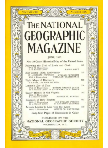 Списание National Geographic 1953-06