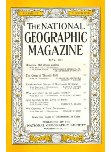 Списание National Geographic 1954-05