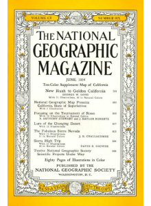 Списание National Geographic 1954-06