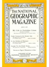 Списание National Geographic 1955-07