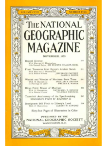 Списание National Geographic 1955-11
