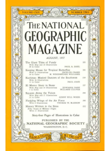 Списание National Geographic 1957-08