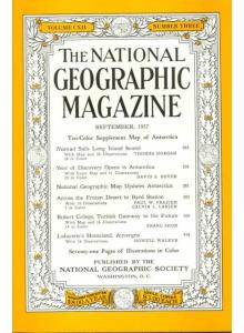 National Geographic Magazine 1957-09