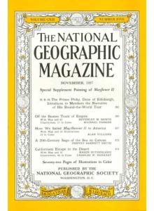 Списание National Geographic 1957-11