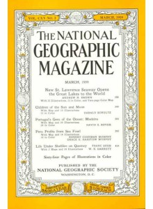 Списание National Geographic 1959-03