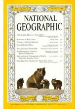 Списание National Geographic 1960-08
