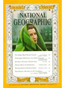 Списание National Geographic 1961-03