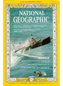 Списание National Geographic 1963-09