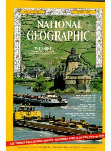 Списание National Geographic 1967-04