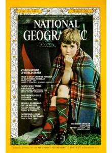 Списание National Geographic 1968-03