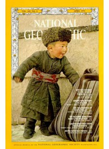 Списание National Geographic 1972-04