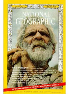 Списание National Geographic 1973-01
