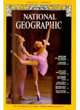 Списание National Geographic 1978-01