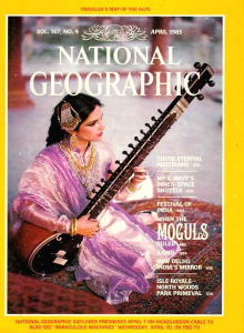 Списание National Geographic 1985-04