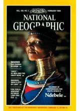 Списание National Geographic 1986-02