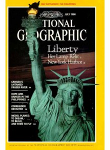 Списание National Geographic 1986-07