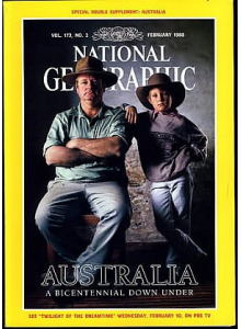 Списание National Geographic 1988-02