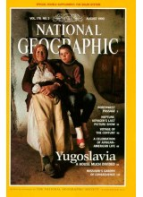 Списание National Geographic 1990-08