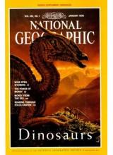 Списание National Geographic 1993-01